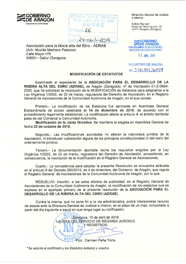 documento transparenica